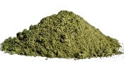Organic Horned Leaf Green Vein Botanical Fine Powder